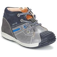 Παπούτσια Αγόρι Ψηλά Sneakers Geox B TOLEDO B. A Grey / MARINE