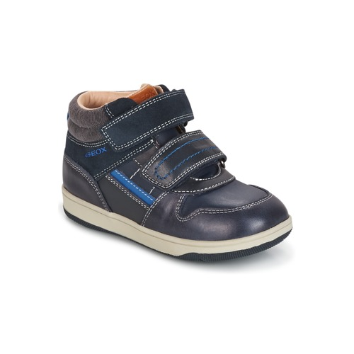 Παπούτσια Αγόρι Ψηλά Sneakers Geox B NEW FLICK B. A Marine / Μπλέ