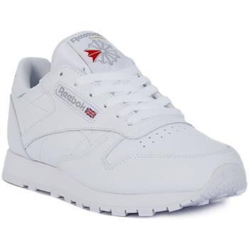Παπούτσια Άνδρας Χαμηλά Sneakers Reebok Sport CLASSIC LTHR Bianco