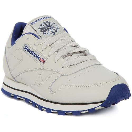 Παπούτσια Άνδρας Χαμηλά Sneakers Reebok Sport CLASSIC LTHR Beige