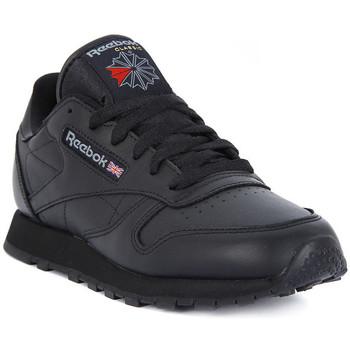 Παπούτσια Άνδρας Χαμηλά Sneakers Reebok Sport CLASSIC LTHR Nero