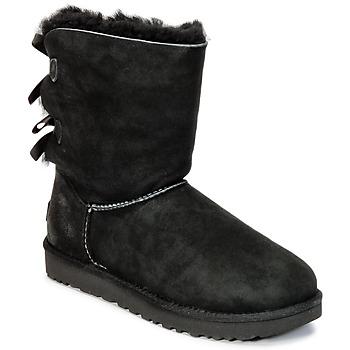 Παπούτσια Γυναίκα Μπότες UGG BAILEY BOW II Black