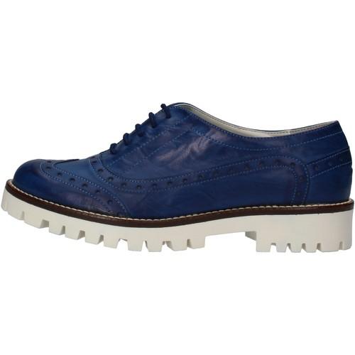 Παπούτσια Γυναίκα Derby Hb Helene Κλασσικός AF03 Μπλε
