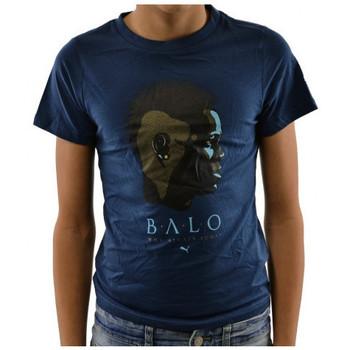 Υφασμάτινα Παιδί T-shirt με κοντά μανίκια Puma  Μπλέ