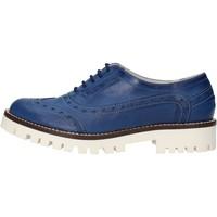 Παπούτσια Γυναίκα Derby & Richelieu Olga Rubini classiche blu pelle AF117 blu