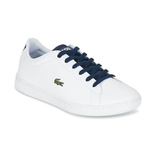 Παπούτσια Παιδί Χαμηλά Sneakers Lacoste CARNABY EVO άσπρο / MARINE