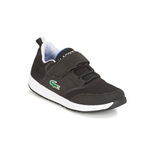 Παπούτσια Παιδί Χαμηλά Sneakers Lacoste L.IGHT Black / Grey