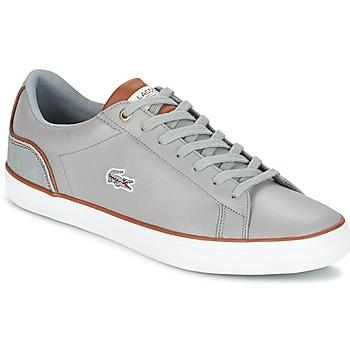 Παπούτσια Άνδρας Χαμηλά Sneakers Lacoste LEROND 3 Grey / Brown