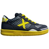 Παπούτσια Παιδί Χαμηλά Sneakers Munich Fashion G3.5 KID-FEEL NEGRO/AMARILLO
