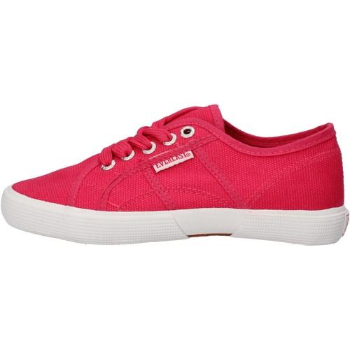 Παπούτσια Αγόρι Χαμηλά Sneakers Everlast Αθλητικά AF826 Ροζ