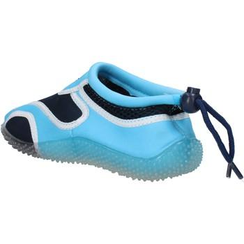Παπούτσια Αγόρι Sneakers Everlast sneakers blu tessuto celeste gomma AF852 multicolore