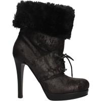 Παπούτσια Γυναίκα Μποτίνια Pin Ko AF906 Black