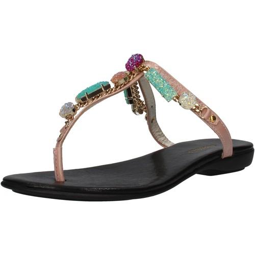 Παπούτσια Γυναίκα Σανδάλια / Πέδιλα Cesare P. By Paciotti Σανδάλια AF935 Ροζ