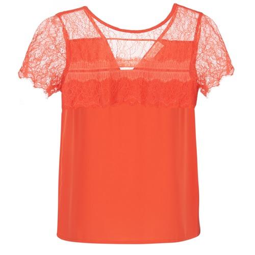 Υφασμάτινα Γυναίκα Μπλούζες Moony Mood GERDUS Orange