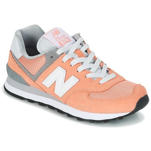 Παπούτσια Γυναίκα Χαμηλά Sneakers New Balance WL574 Peche