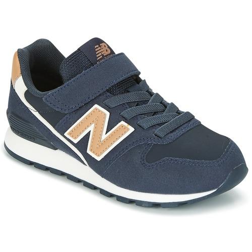 Παπούτσια Παιδί Χαμηλά Sneakers New Balance KV996 MARINE / άσπρο