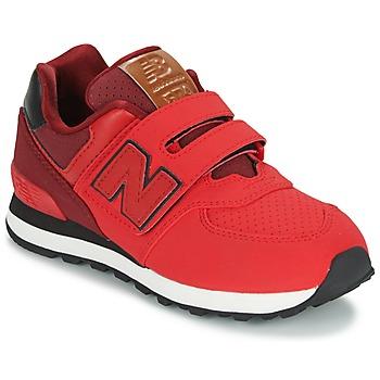 Παπούτσια Παιδί Χαμηλά Sneakers New Balance KV575 Red / Black