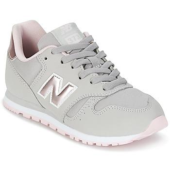 Παπούτσια Κορίτσι Χαμηλά Sneakers New Balance KJ374 Grey / Ροζ
