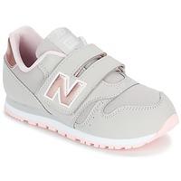 Παπούτσια Κορίτσι Χαμηλά Sneakers New Balance KV373 Grey / Ροζ