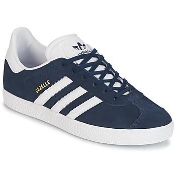 Παπούτσια Παιδί Χαμηλά Sneakers adidas Originals GAZELLE J MARINE
