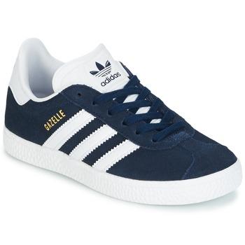 Παπούτσια Παιδί Χαμηλά Sneakers adidas Originals Gazelle C Marine
