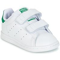 Παπούτσια Παιδί Χαμηλά Sneakers adidas Originals STAN SMITH CF I άσπρο / Green