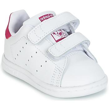 Xαμηλά Sneakers adidas STAN SMITH CF I ΣΤΕΛΕΧΟΣ: Δέρμα και συνθετικό & ΕΠΕΝΔΥΣΗ: Ύφασμα & ΕΣ. ΣΟΛΑ: Ύφασμα & ΕΞ. ΣΟΛΑ: Καουτσούκ