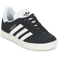 Παπούτσια Αγόρι Χαμηλά Sneakers adidas Originals GAZELLE C Black