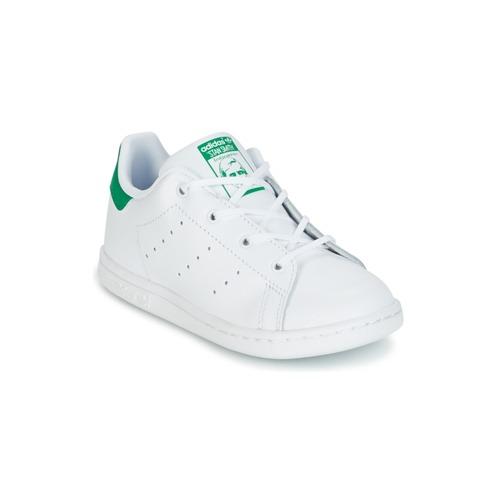 Παπούτσια Παιδί Χαμηλά Sneakers adidas Originals STAN SMITH I άσπρο / Green