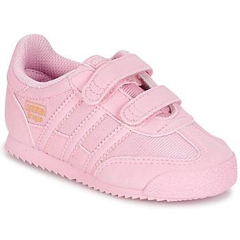 Παπούτσια Κορίτσι Χαμηλά Sneakers adidas Originals DRAGON OG CF C Ροζ