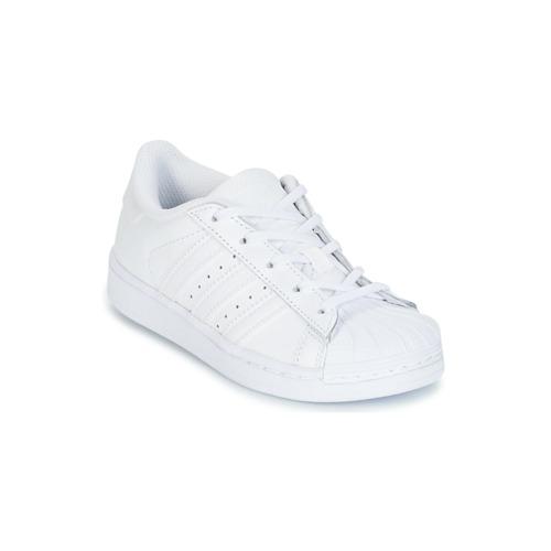 Παπούτσια Παιδί Χαμηλά Sneakers adidas Originals SUPERTSAR Άσπρο