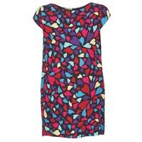 Υφασμάτινα Γυναίκα Κοντά Φορέματα Love Moschino WVF0300T9171 Multicolore