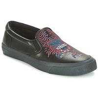 Παπούτσια Άνδρας Slip on Kenzo VELVET Black