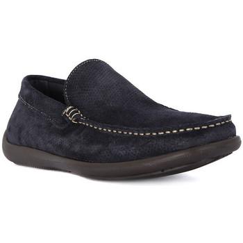 Παπούτσια Άνδρας Μοκασσίνια Frau CASTORO BLU Blu
