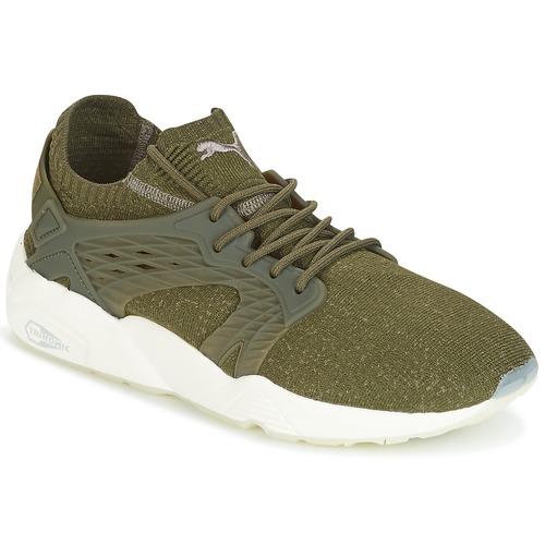 Παπούτσια Άνδρας Χαμηλά Sneakers Puma BLAZE CAGE EVOKNIT Kaki