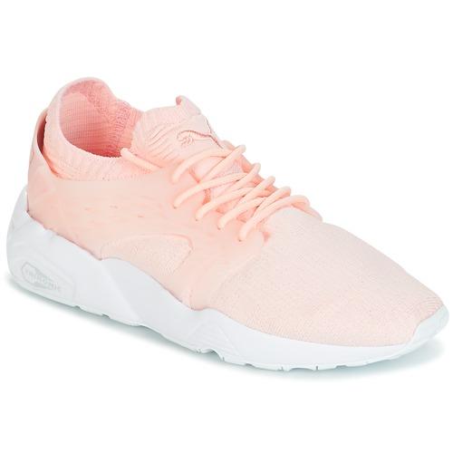 Παπούτσια Γυναίκα Χαμηλά Sneakers Puma Blaze Cage Knit Wn's Ροζ