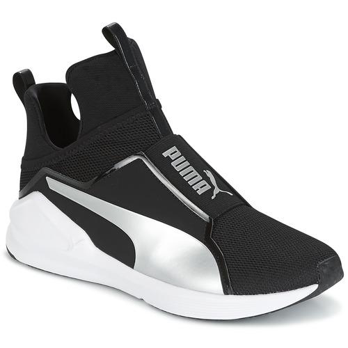 Παπούτσια Γυναίκα Ψηλά Sneakers Puma FIERCE core Black