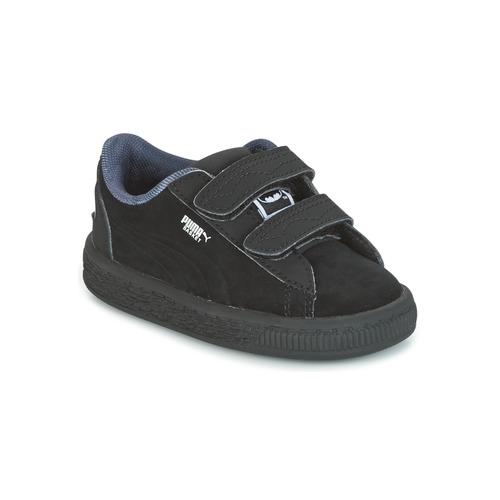 Παπούτσια Αγόρι Χαμηλά Sneakers Puma SUEDE BATMAN V INF Black / Batman