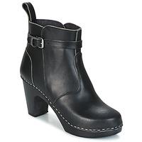 Παπούτσια Γυναίκα Μποτίνια Swedish hasbeens HIGH HEELED JODHPUR Black