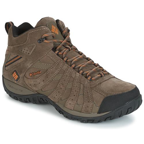 Παπούτσια Άνδρας Πεζοπορίας Columbia REDMOND MID LEATHER OMNI-TECH TAUPE
