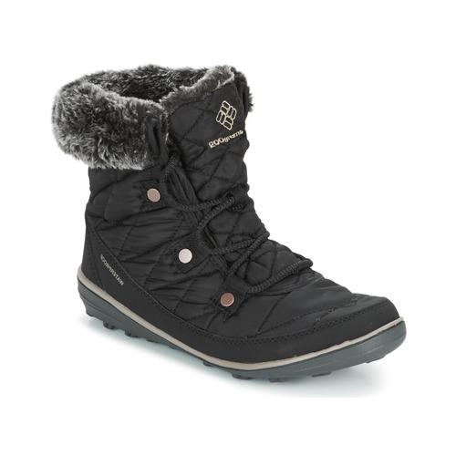 Παπούτσια Γυναίκα Snow boots Columbia HEAVENLY SHORTY OMNI-HEAT Black