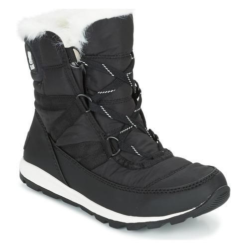 Παπούτσια Γυναίκα Snow boots Sorel WHITNEY SHORT LACE Black