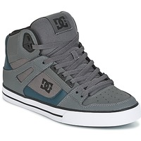 Παπούτσια Άνδρας Ψηλά Sneakers DC Shoes SPARTAN HIGH WC Grey / Green