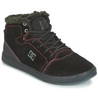 Παπούτσια Παιδί Ψηλά Sneakers DC Shoes CRISIS HIGH WNT Black / Red / άσπρο