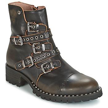 Μπότες Dkode UMBRIA-BLACK-001 ΣΤΕΛΕΧΟΣ: Δέρμα & ΕΠΕΝΔΥΣΗ: Δέρμα & ΕΣ. ΣΟΛΑ: Δέρμα & ΕΞ. ΣΟΛΑ: Συνθετικό