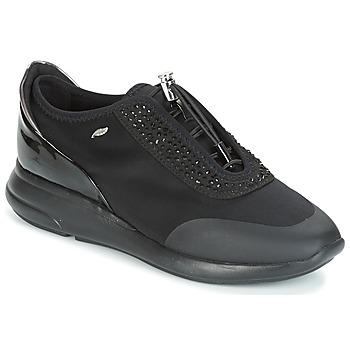 Παπούτσια Γυναίκα Χαμηλά Sneakers Geox D OPHIRA Black