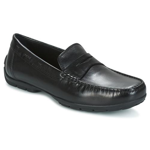 Παπούτσια Άνδρας Μοκασσίνια Geox U MONET W 2FIT Black