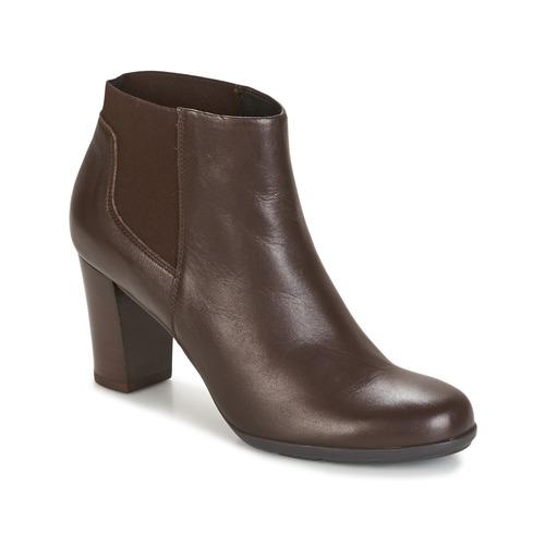 Παπούτσια Γυναίκα Μποτίνια Geox D ANNYA Brown