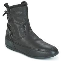 Παπούτσια Γυναίκα Μπότες Geox D NEW MOENA Black