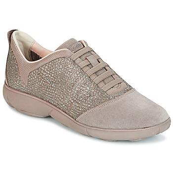 Παπούτσια Γυναίκα Χαμηλά Sneakers Geox D NEBULA TAUPE